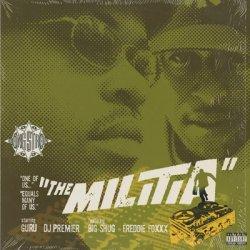 """画像1: Gang Starr / The Militia c/w You Know My Steez (Remix) (12"""")"""