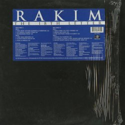 画像1: Rakim / The 18th Letter