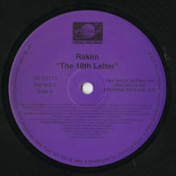 画像3: Rakim / The 18th Letter