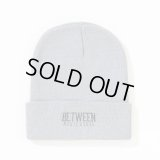 BETWEEN MUSIC STORE LOGO BEANIE (GRAY)