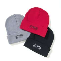 画像3: BETWEEN MUSIC STORE LOGO BEANIE (RED)