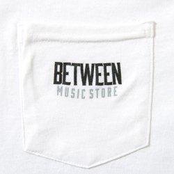 画像2: BETWEEN MUSIC STORE L/S POCKET T-SHIRT (WHITE)