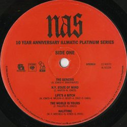 画像3: Nas / Illmatic (10 Year Anniversary Illmatic Platinum Series)
