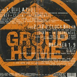 画像2: Group Home / Dial A Thug c/w 12 O'Clock Bklyn