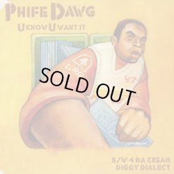 画像1: Phife Dawg / U Know U Want It c/w Jax / Da Cream