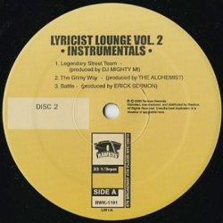 画像3: Lyricist Lounge 2 (Instrumentals)