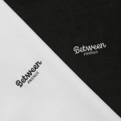画像3: BETWEEN FRIENDS L/S T-SHIRT (BLACK)