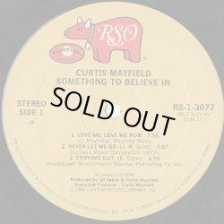 画像3: Curtis Mayfield / Something To Believe In