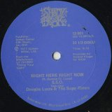 The S.S.O. Orchestra Featuring Douglas Lucas & The Sugar Sisters / Right Here Right Now c/w Give A Damn