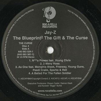 jay z the blueprint 2 the gift the curse